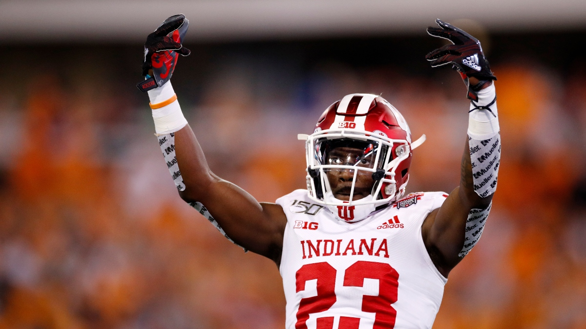 Indiana vs. Michigan Promo: Bet $20, Win $125 if Indiana Gains a Yard! article feature image