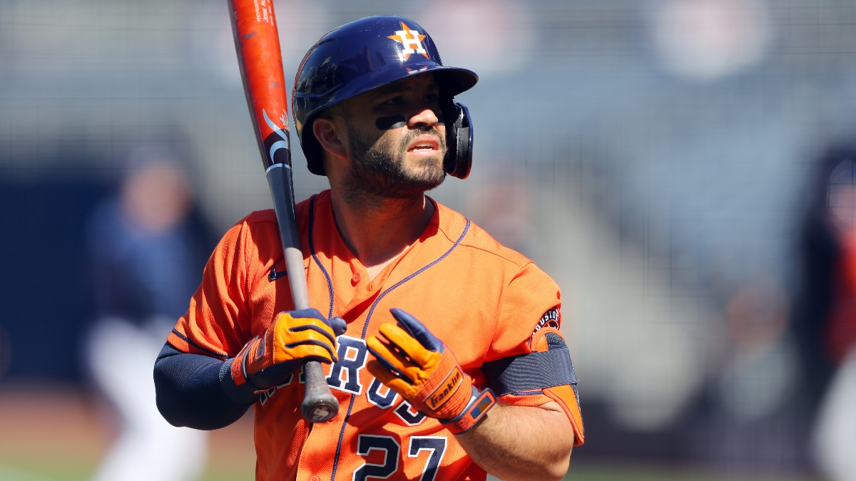 Zerillo: Odds, Projections & Picks for Rays vs. Astros ALCS Game 3 (Oct. 13) article feature image