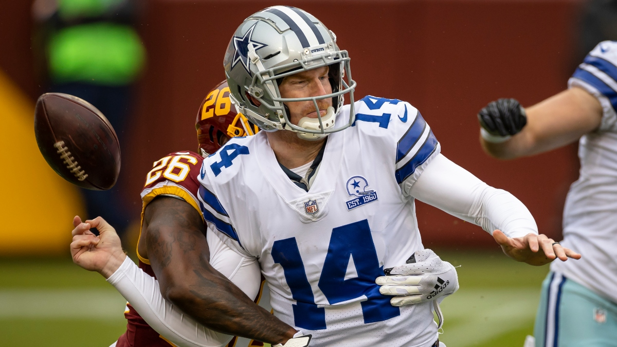 Cowboys Fail To Cover 8th Straight Spread For Worst Start In NFL Betting History article feature image