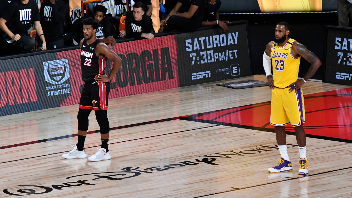 Tuesday NBA Finals Player Prop Bets & Picks: Will We See Another Triple-Double In Game 4? (Oct. 6) article feature image