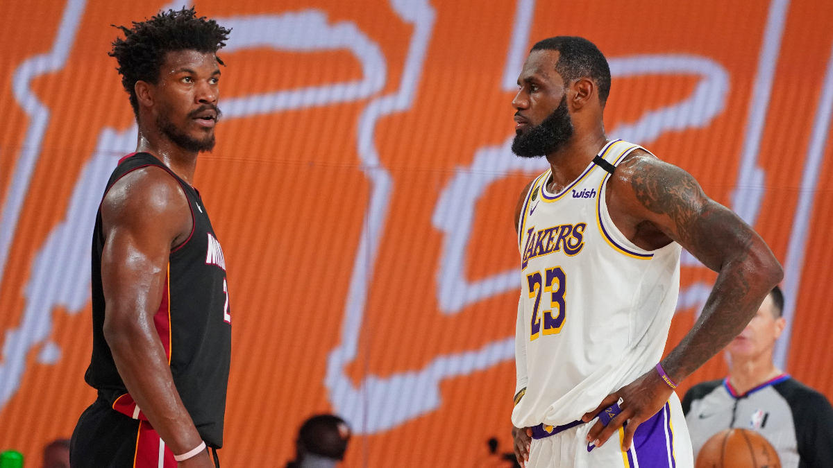 Tuesday NBA Finals Picks & Predictions: Our Best Bets for Lakers vs. Heat Game 4 (Oct. 6) article feature image