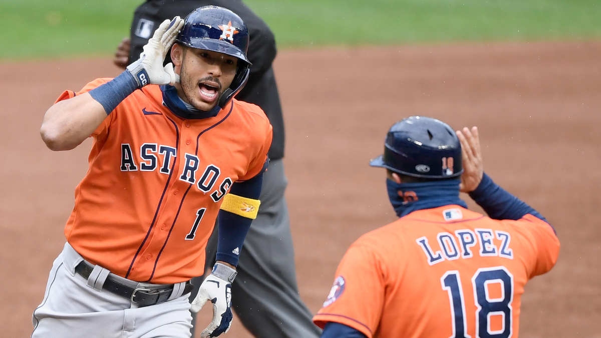 Tuesday MLB Playoff Odds, Picks and Predictions: Houston Astros vs. Oakland Athletics ALDS Game 2 (Oct. 6) article feature image