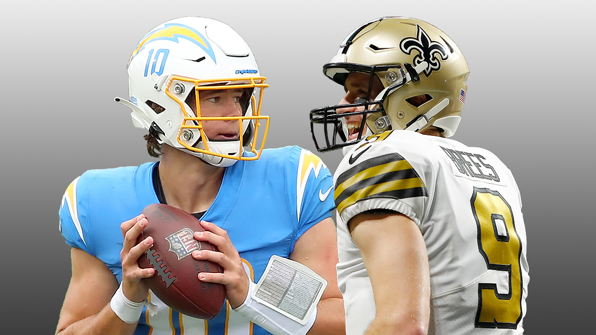Saints vs. Chargers Betting Guide: Odds, Picks & Predictions On Monday Night Football article feature image