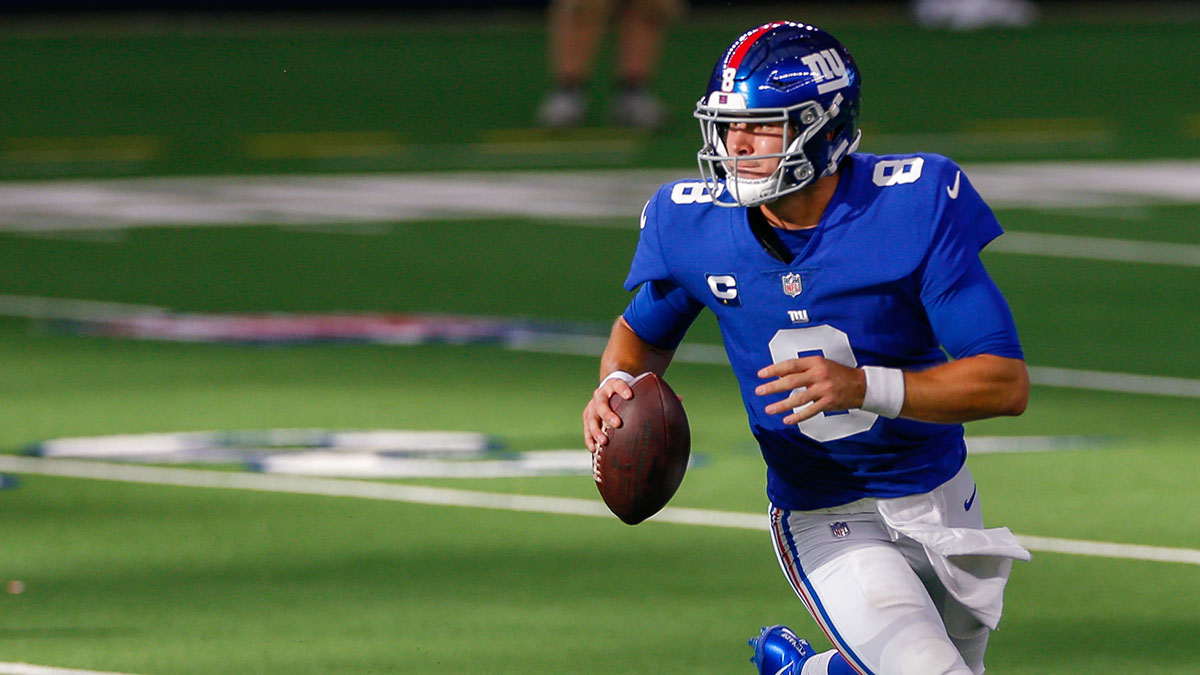 Giants vs. Eagles Odds & Promotions: Bet $20, Win $125 if the Giants Gain a Yard! article feature image