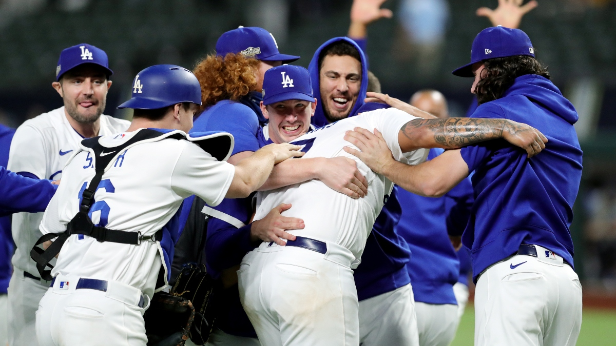 Updated 2020 World Series Betting Odds: Rays vs. Dodgers Series Price, Exact Outcome Odds article feature image
