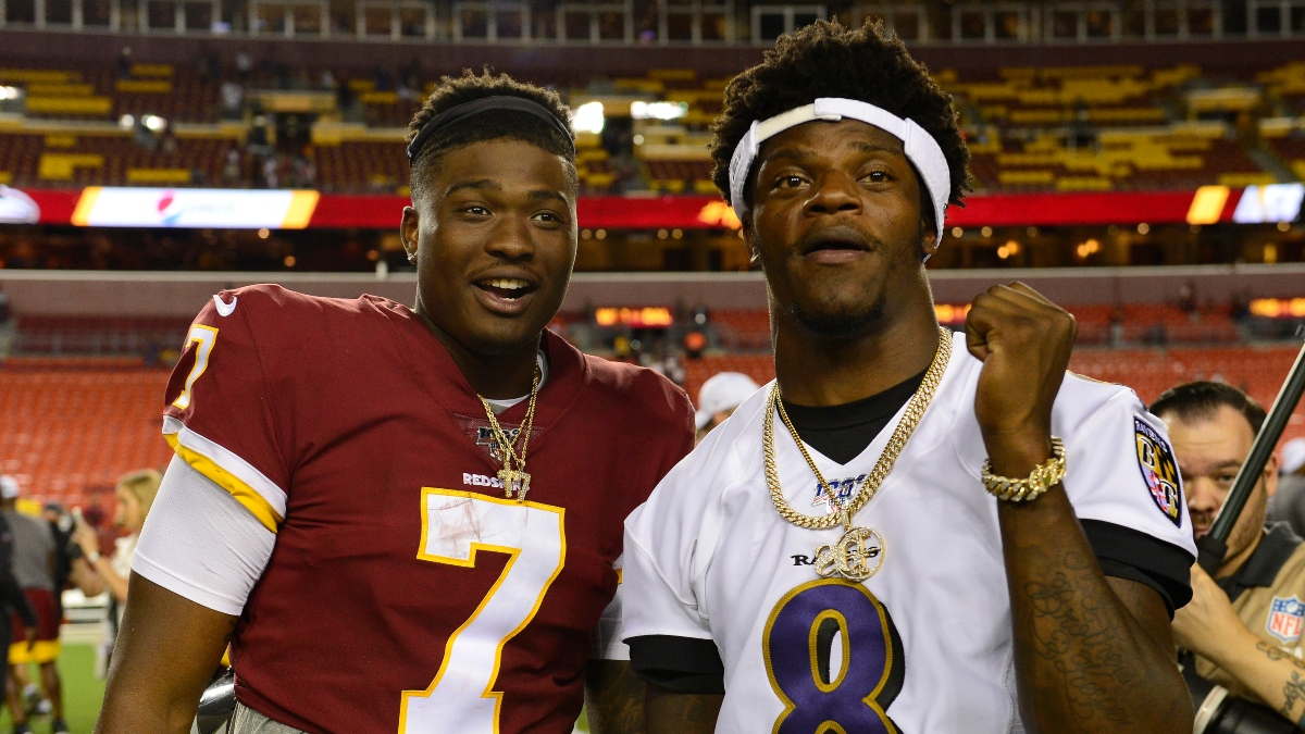 Ravens vs. Washington Football Team Betting Odds: Baltimore Among Largest Road Favorites Ever Tracked article feature image