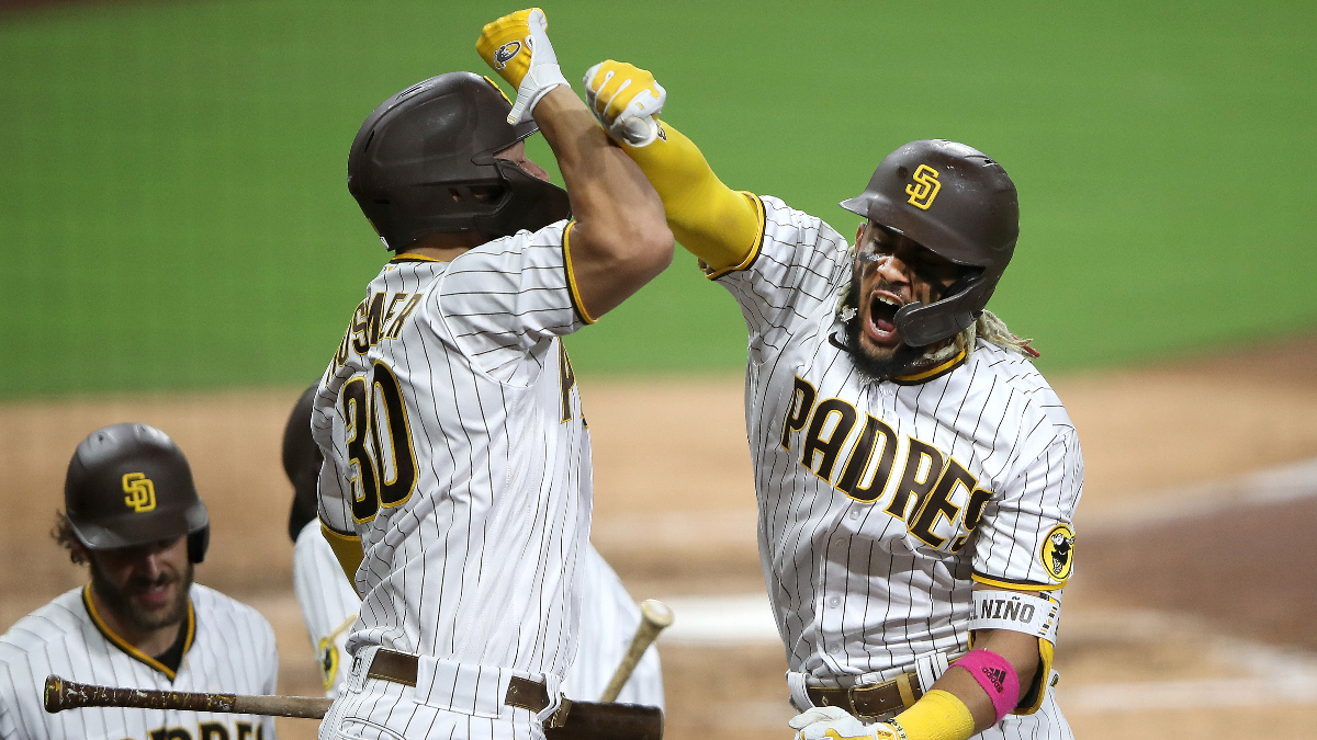 MLB Playoff Odds & Picks: How to Bet Tuesday's 4 Divisional Round Matchups article feature image