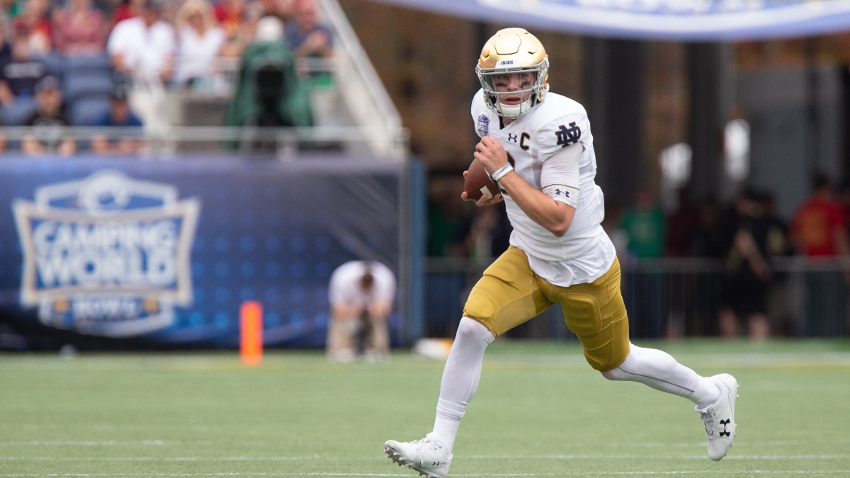 Florida State at Notre Dame Betting Odds & Pick: Back the Irish as Favorites Against the Seminoles (Saturday, Oct. 10) article feature image