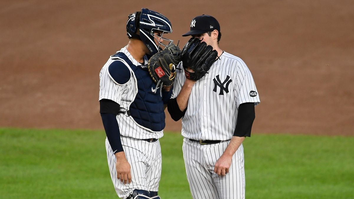 MLB Betting Odds, Sharp Pick: Rays vs. Yankees (Thursday, Oct. 8) article feature image