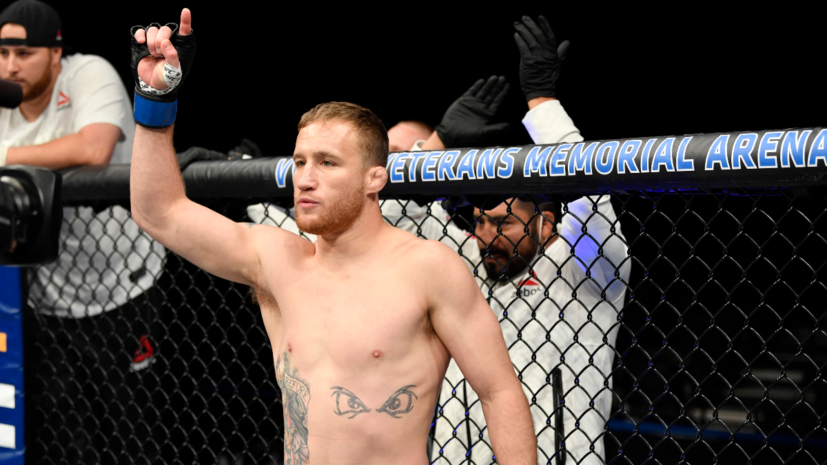 Khabib Nurmagomedov vs. Justin Gaethje Odds, Pick & Prediction: Reigning Champ May Be Vulnerable in UFC 254 Main Event article feature image