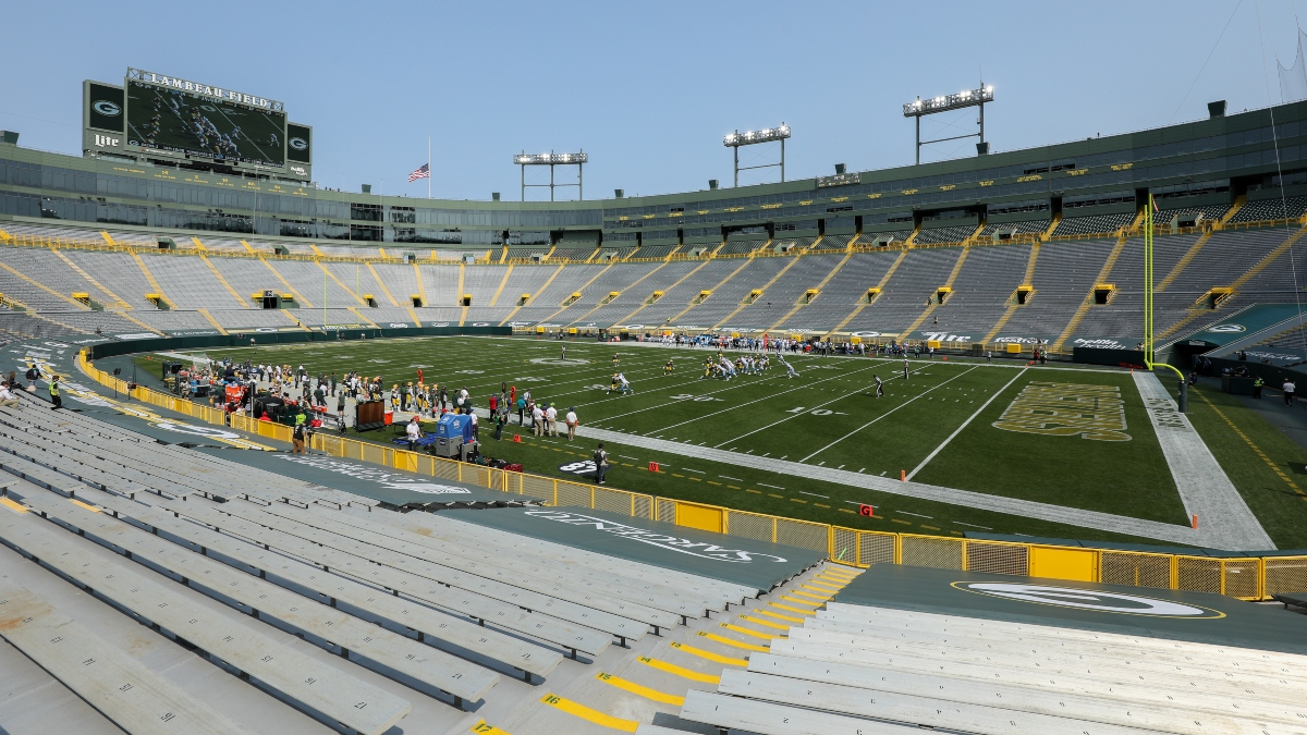 NFL Odds, Picks & Predictions: How Wind Is Moving Bears vs. Packers Odds article feature image