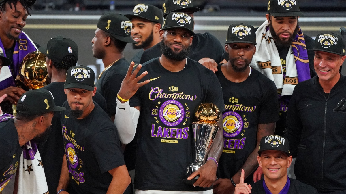 LeBron's Fourth NBA Title Widens Gap Between Him and Other NBA Legends article feature image