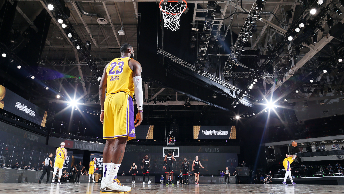 Nba Finals Picks Predictions Our Best Bets For Lakers Vs Heat Game 3 Sunday Oct 4