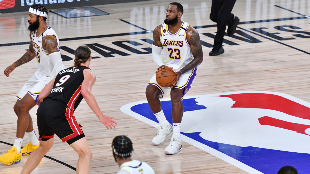 NBA Finals Betting Trends: Lakers Streaky Shooting, Live Betting Opportunities, More article feature image