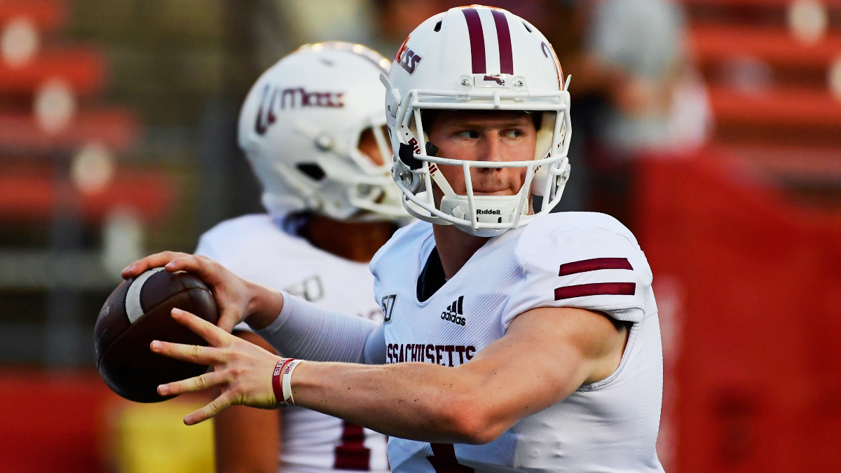 UMass vs. Georgia Southern Odds & Pick: Back the Minutemen In This Strange Spot (Saturday, Oct. 17) article feature image