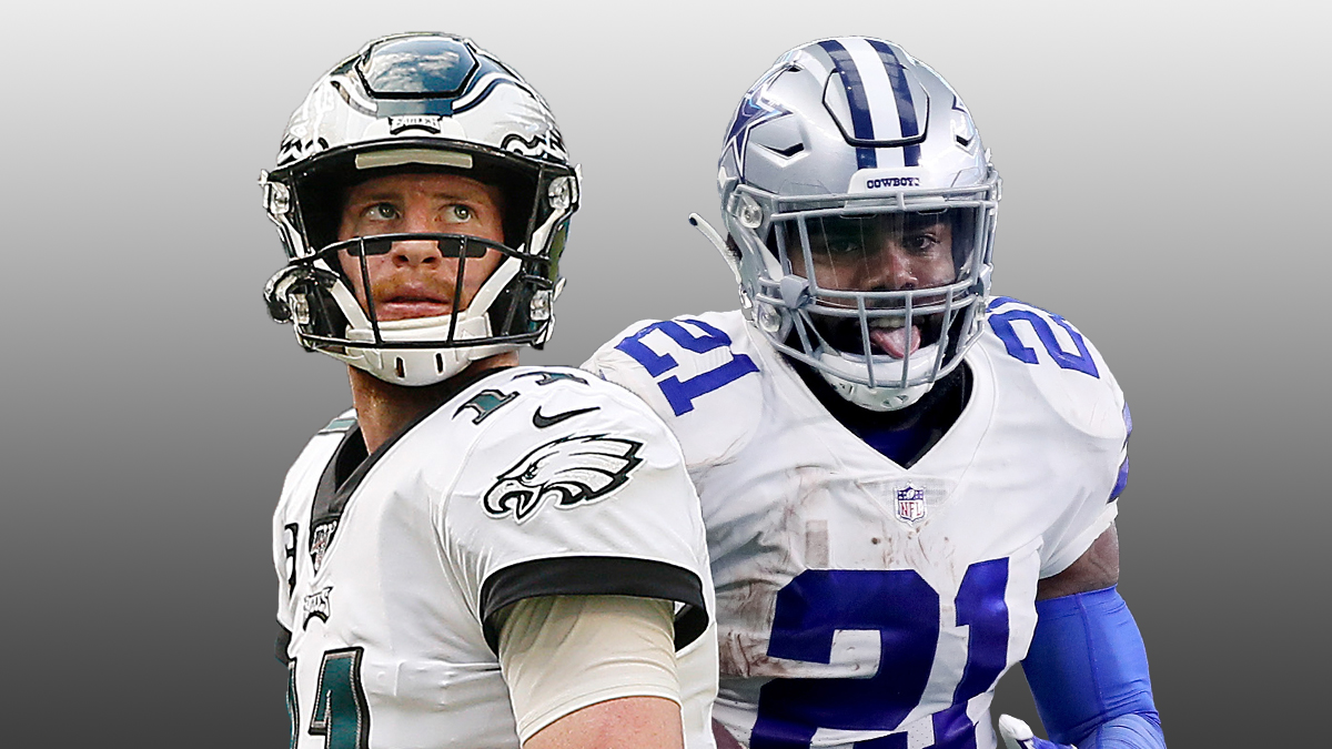eagles cowboys betting odds