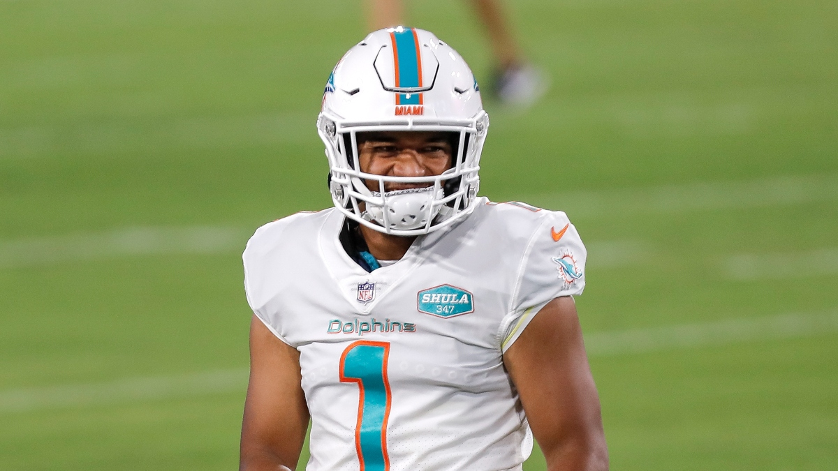Rams vs. Dolphins Odds & Picks: Fade Tua Tagovailoa In His First NFL Start article feature image