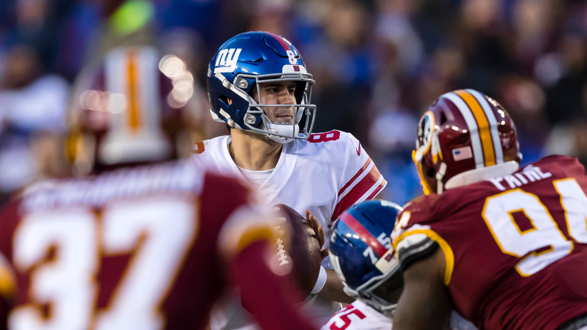 Giants vs. Washington Promo: Bet $1, Win $100 if There's at Least 1 Touchdown! article feature image