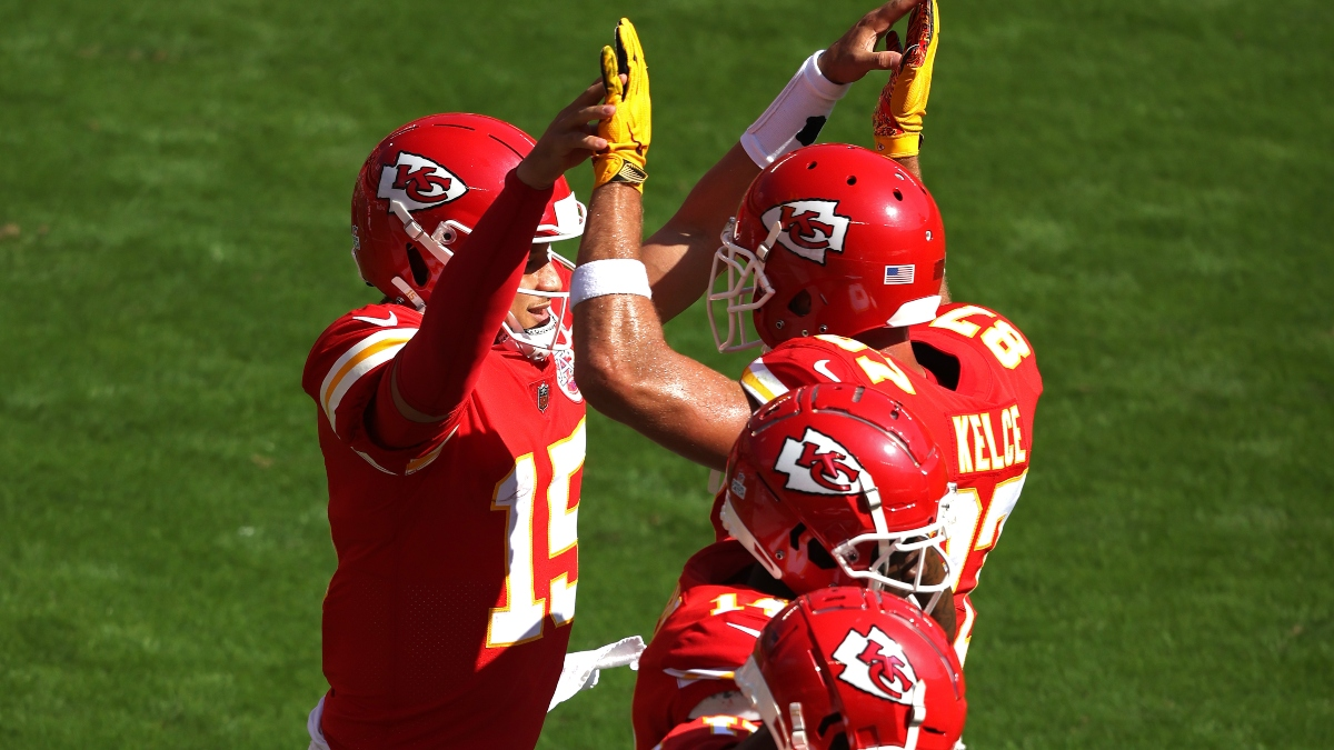 Jets vs. Chiefs Betting Odds: Kansas City a Historic Favorite Over New York in Week 8 Lookahead Lines article feature image