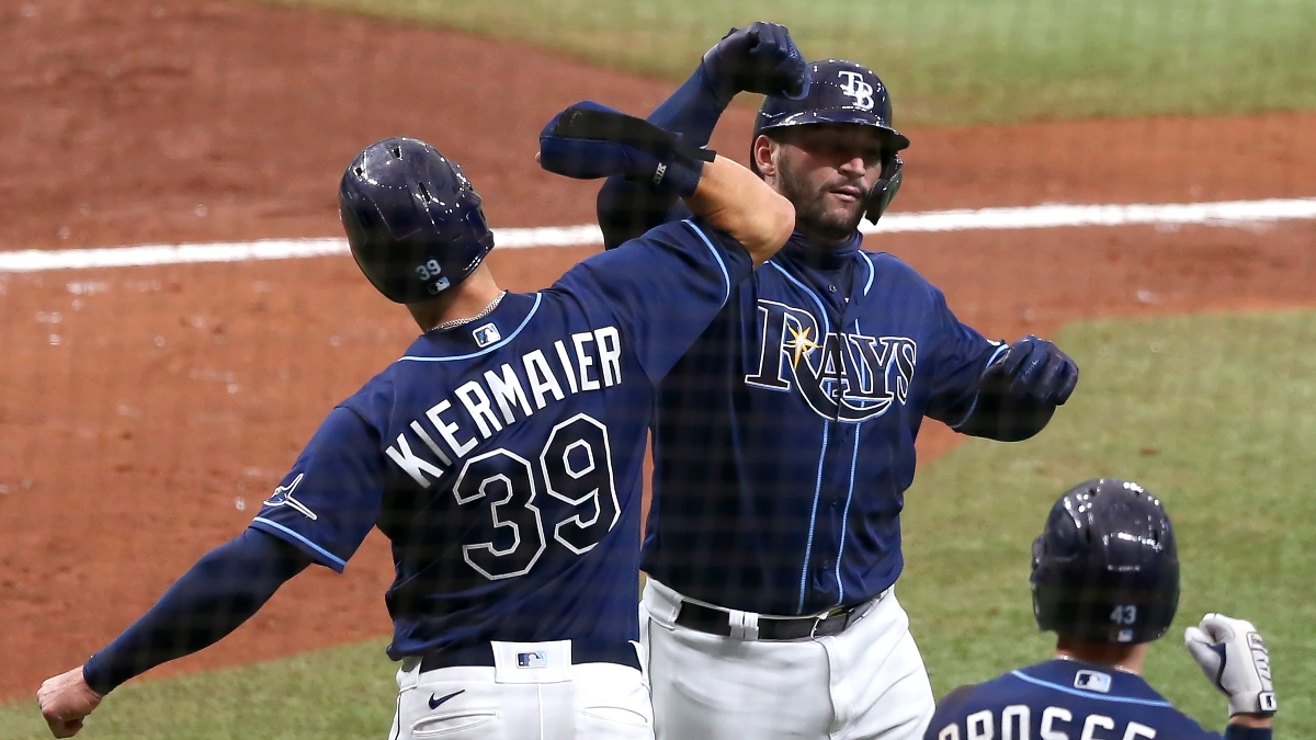 MLB Playoff Betting Picks: Astros vs. Athletics, Yankees vs. Rays (Monday, Oct. 5) article feature image