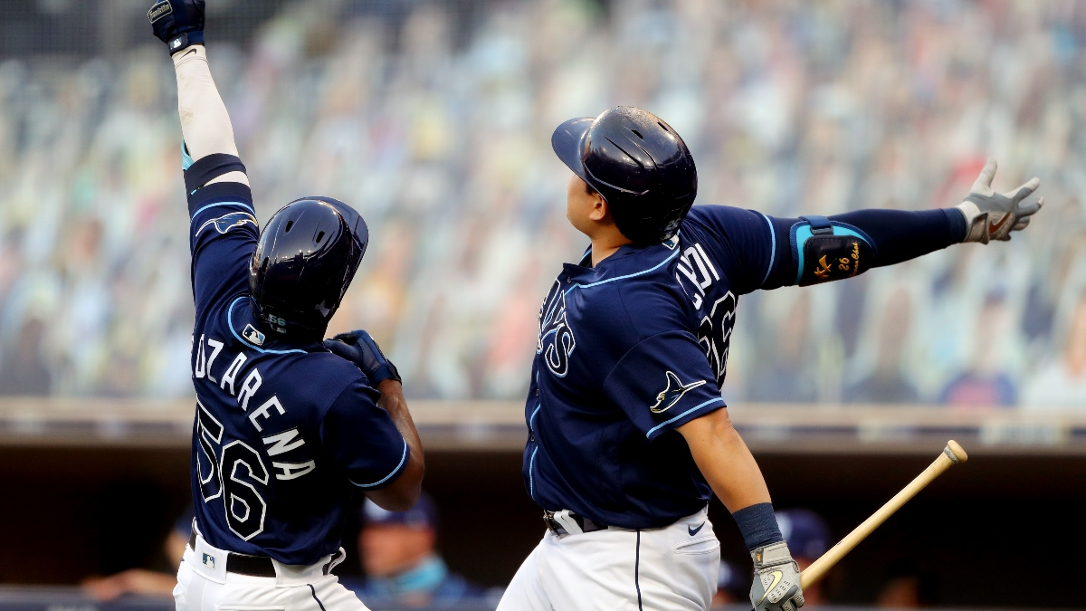 Tuesday MLB Playoff Betting Picks: Our Best Bet for Yankees vs. Rays Game 2 (Oct. 6) article feature image
