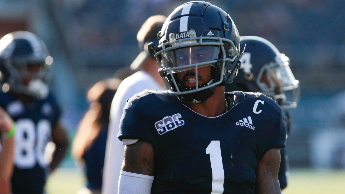 Georgia Southern at Coastal Carolina Betting Odds & Pick: Can the Ranked Chanticleers Take Down the Eagles? (Saturday, Oct. 24) article feature image