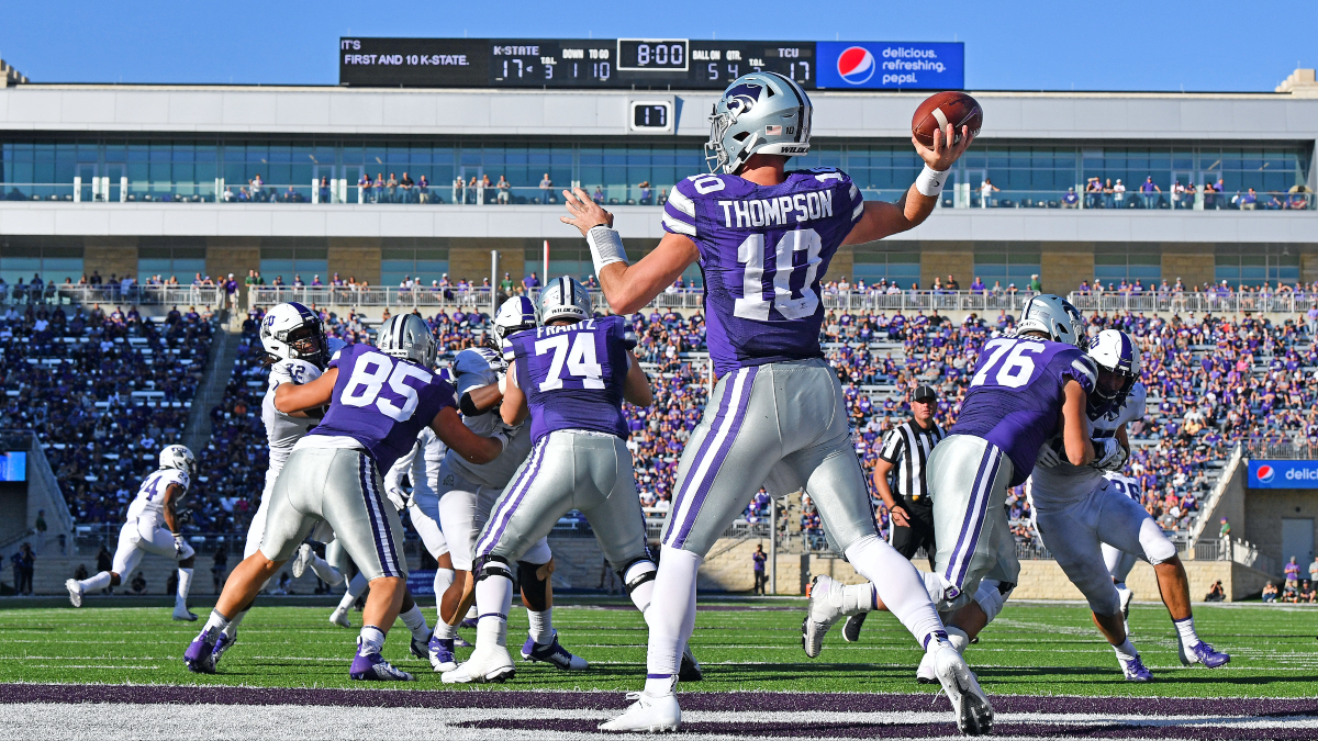 Kansas State at TCU Betting Odds & Pick: Back the Wildcats to Cover (Saturday, Oct. 10) article feature image