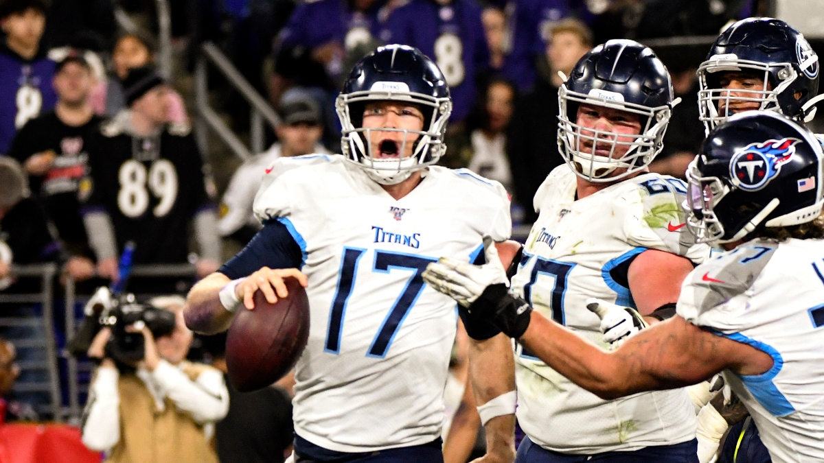 Titans vs. Texans Odds & Pick: Bet Tennessee To Cover Sunday's Spread article feature image