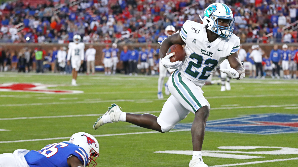 SMU at Tulane Betting Odds & Pick: Can the Mustangs Overcome Injuries & Stay Undefeated? (Friday, Oct. 16) article feature image