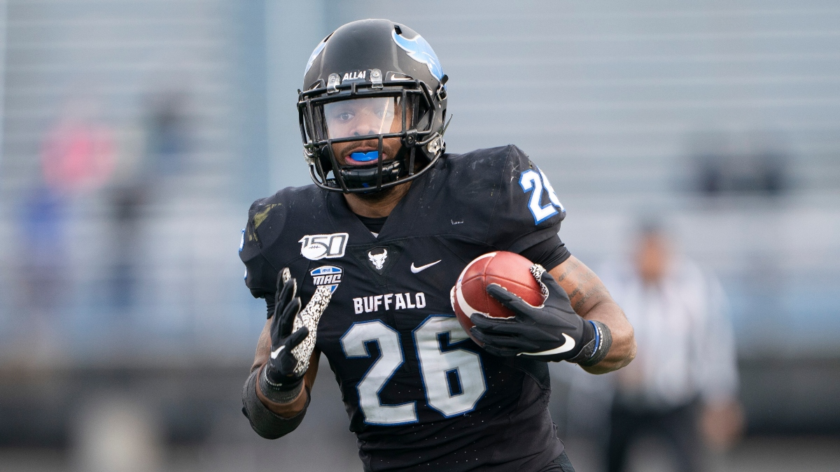 Buffalo vs. Miami (OH) Promo: Bet $20, Win $125 if Buffalo Gains a Yard! article feature image