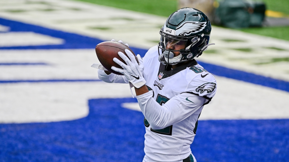 Eagles vs. Washington Promo: Bet $1, Win $100 if There's at Least 1 TD! article feature image