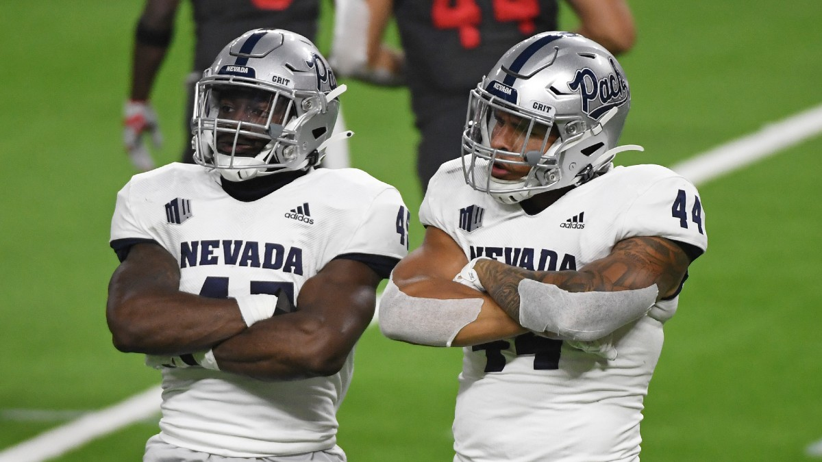 Nevada vs. Utah State Promo: Bet $20, Win $125 if Nevada Gains a Yard! article feature image