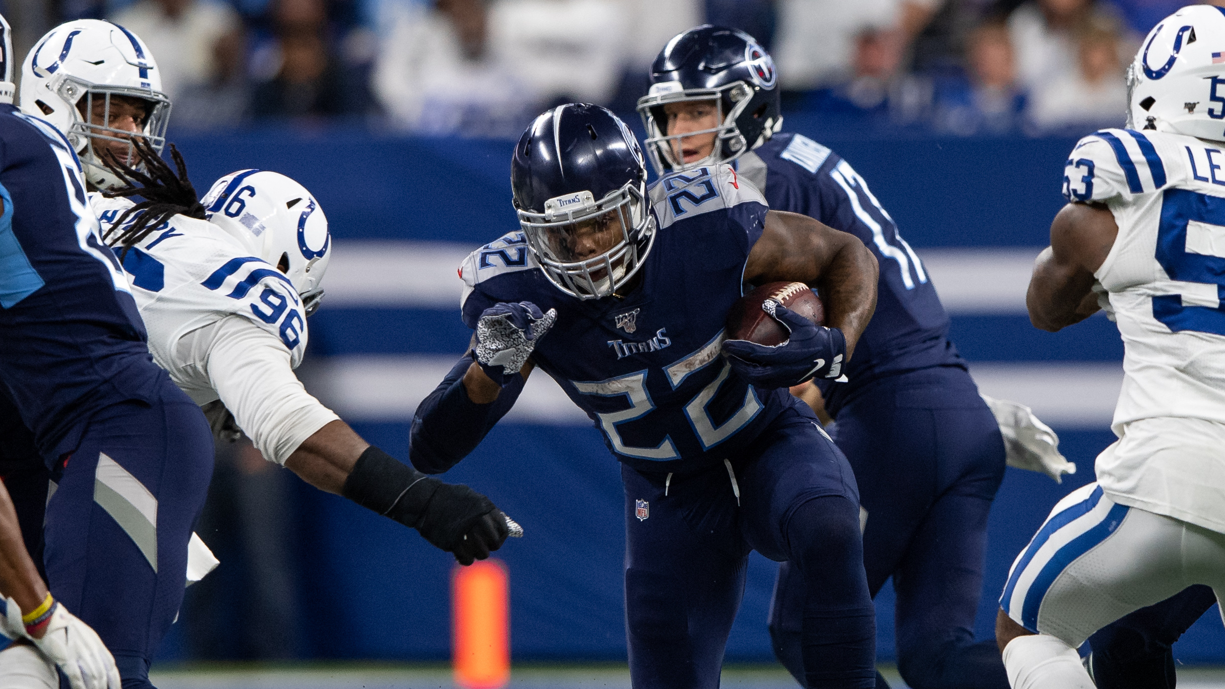 Colts vs. Titans Odds & Promos: Bet $5, Win $100 if Either Team Covers +50, More! article feature image