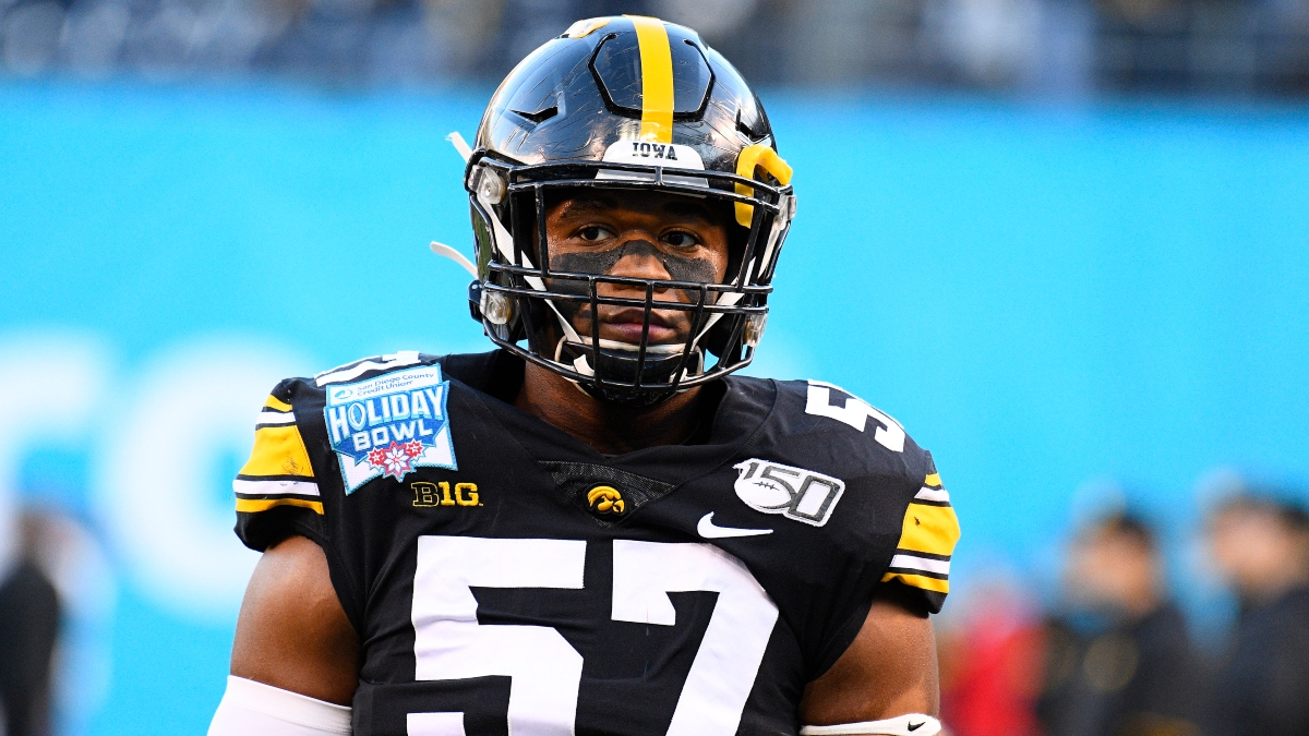 Iowa vs. Minnesota Odds & Promos: Bet $20, Win $125 if Iowa Gains a Yard, More! article feature image