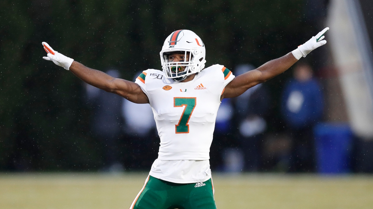 Miami vs. NC State Promo: Bet $5, Win $100 if Miami Covers +50! article feature image