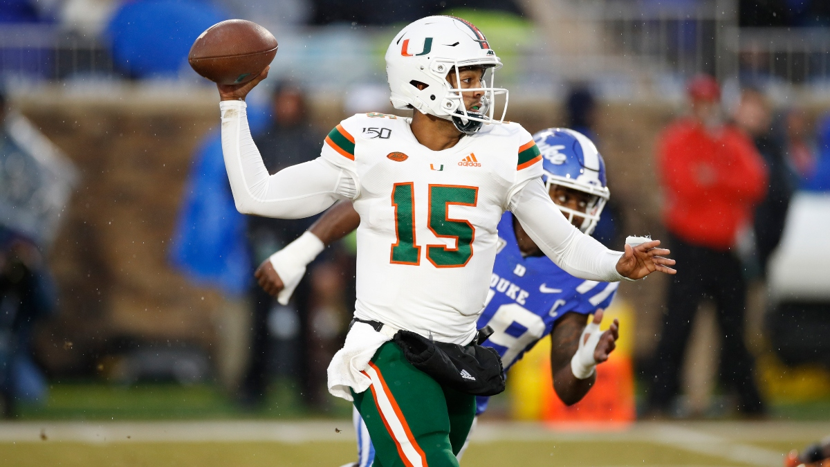 Miami vs. NC State Odds & Promos: Bet $5, Win $100 if Miami Covers +50, More! article feature image