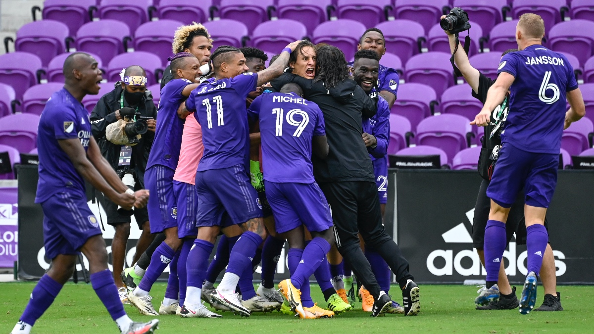 Orlando City vs. New England Betting Odds, Picks & Predictions for Sunday MLS Playoffs (Nov. 29) article feature image