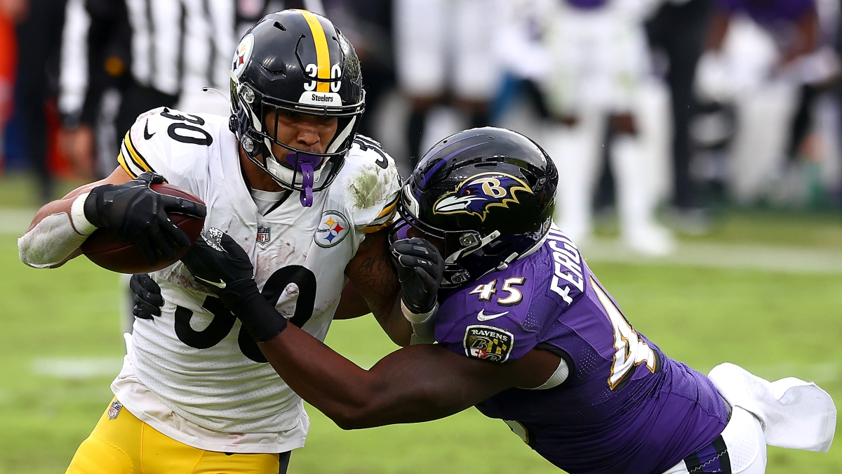 Thanksgiving Football Promo: Bet $5, Win $125 on Steelers-Ravens! article feature image