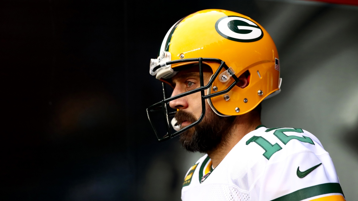 Aaron Rodgers Isn't Having A Comeback — He's Just Not Getting Pressured That Much article feature image