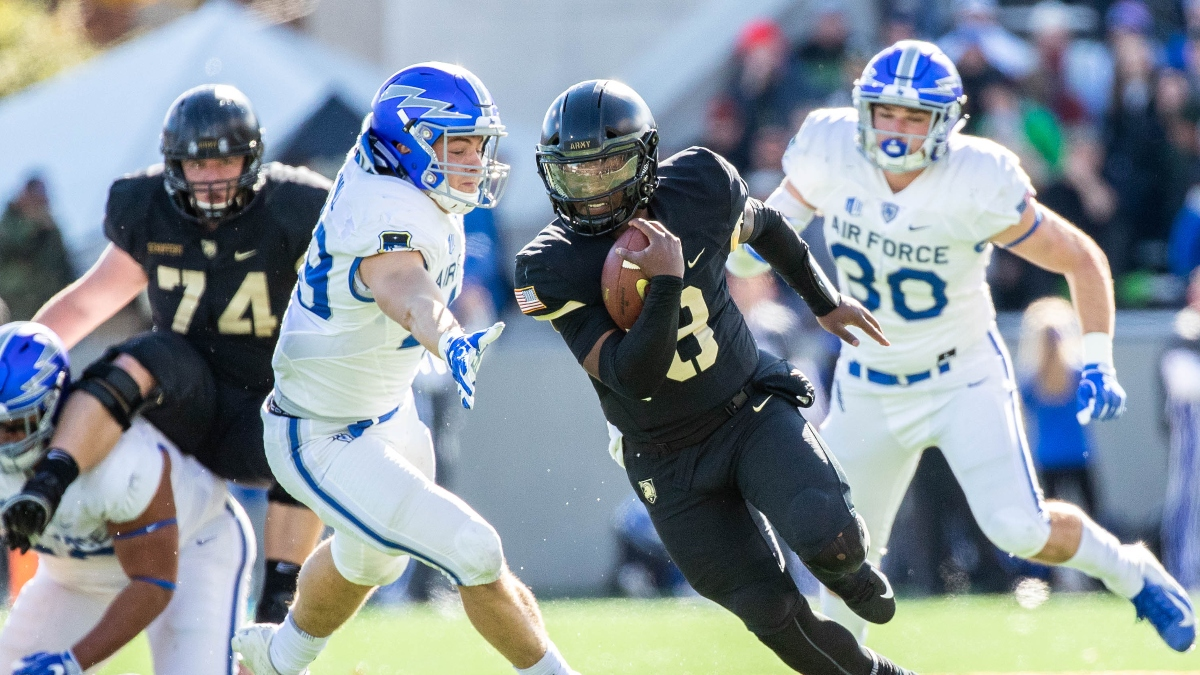 College Football Odds for Air Force vs. Army: The Service Academy Over/Under Betting Trend article feature image