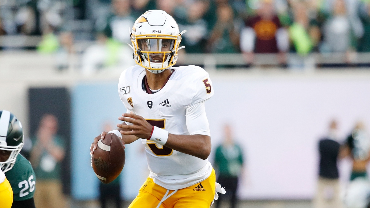 College Football Odds & Pick for Arizona State vs. USC: Sharp Action, Betting Systems Aligned on Total (Saturday, Nov. 7) article feature image