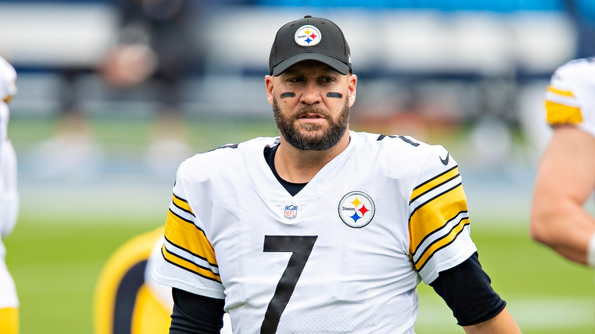 Updated Bengals vs. Steelers Betting Odds: Ben Roethlisberger on COVID-19 List, Line on the Move article feature image