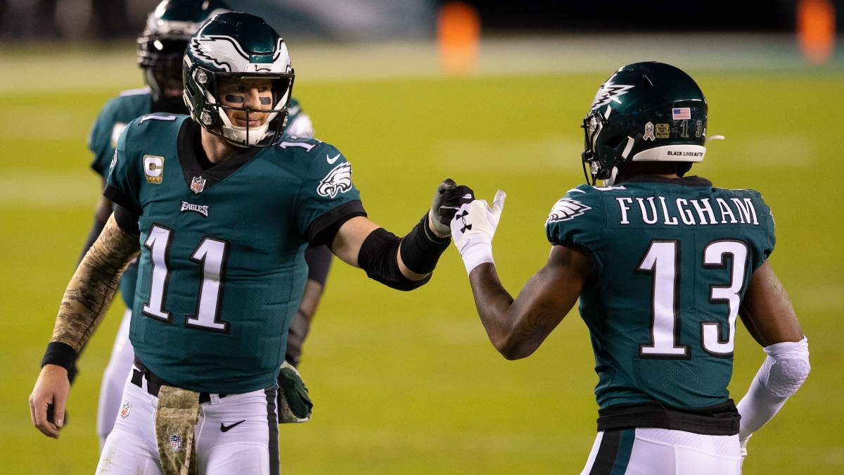Eagles vs. Seahawks Promo: Bet $10, Win $100 if the Eagles Score a Point! article feature image