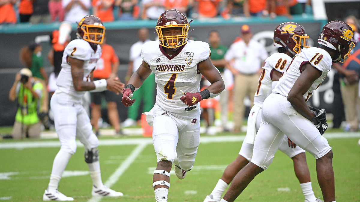 College Football Odds & Pick For Central Michigan vs. Northern Illinois: Bet the Chippewas Over Huskies article feature image