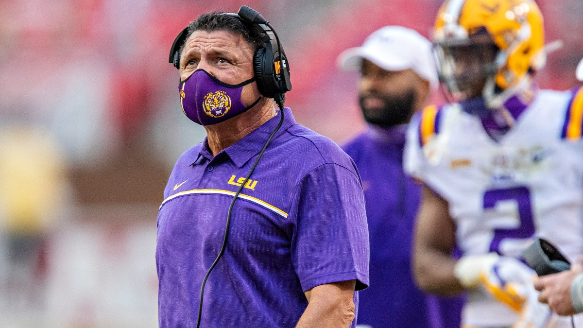 College Football Odds & Picks for LSU vs. Texas A&M: Bet the Aggies on Spread & Team Total article feature image