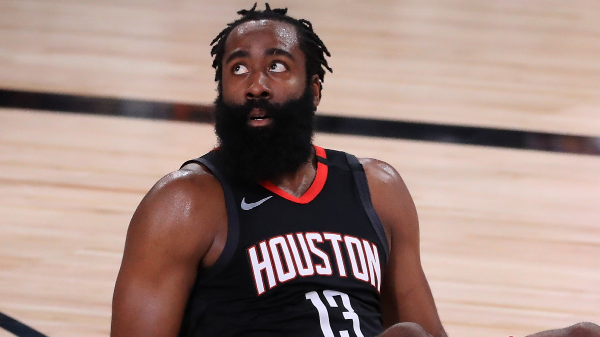 2020-21 NBA Win Total Odds: Expectations Tempered for Houston Rockets Amid James Harden Saga article feature image