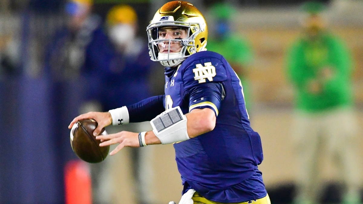 Saturday College Football Betting Odds, Picks & Predictions for Boston College vs. Notre Dame article feature image