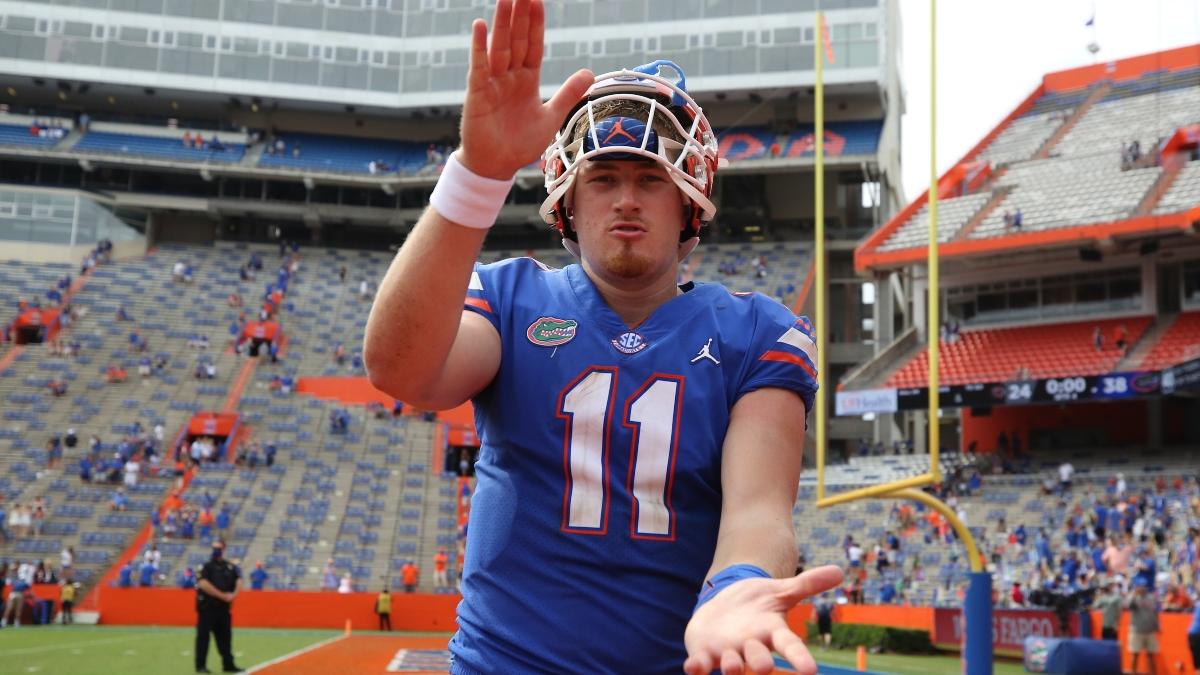 Arkansas vs. Florida Odds & Picks: Gators Tight End Kyle Pitts' Injury Status Creates Value on Under article feature image