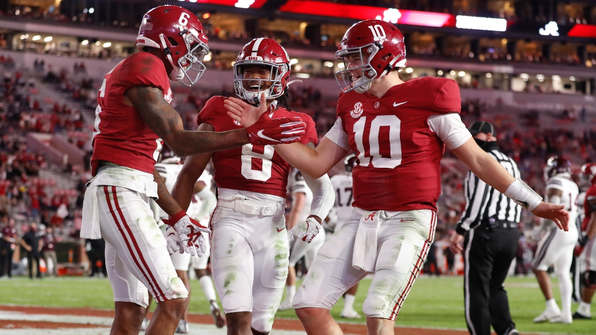 College Football Odds & Picks for Auburn vs. Alabama: Iron Bowl's Betting Value Lies With Crimson Tide article feature image