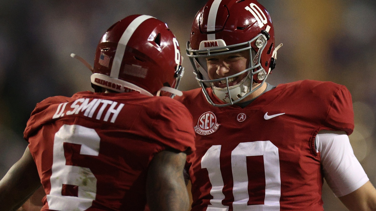 National Championship Promo: Bet $1, Win $100 on Alabama! article feature image